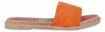 Oranžové dámské žabky Sergio Todzi