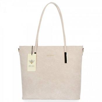 BEE BAG Klasické Dámské Kabelky Florence M size Béžová