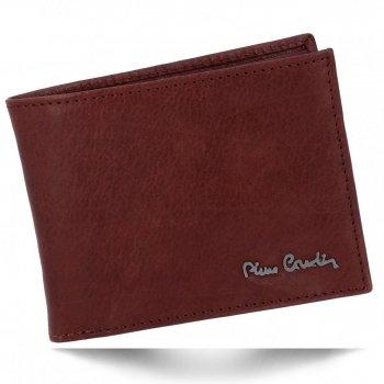 Klasická Pánská Kožená Peněženka Pierre Cardin Hnědá