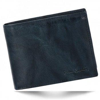 Pierre Cardin Elegantní Pánská Kožená Peněženka Tmavě modrá