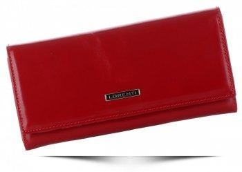 Dámská kožená peněženka Lorenti červená