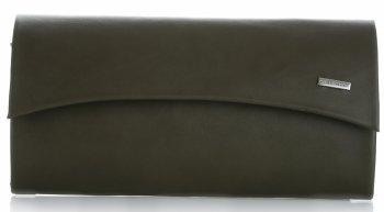 elegantní dámské kabelky psaníčka Khaki