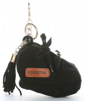 Přívěšek ke kabelce Bota Fiorentina černý