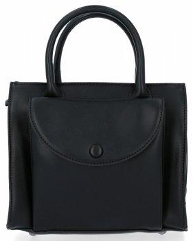 Elegantní Kabelka Kufřík Listonoška Diana&Co Černá