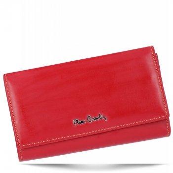 Dámská kožená peněženka Pierre Cardin Bordová