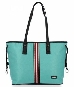 Módní Dámské Kabelky Shopper Bag David Jones Mátová