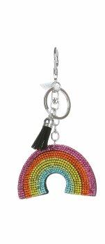 Přívěšek ke kabelce Rainbow černá