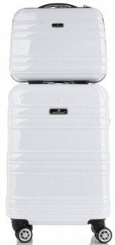 Kufry renomované firmy Madisson Sada 2 v1 Bílá