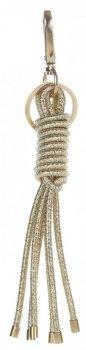 Přívěšek ke kabelce lesklý námořnický uzel zlatá