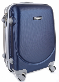 Palubní kufřík Ultra Light Or&Mi 4 kolečka Tmavě modrá