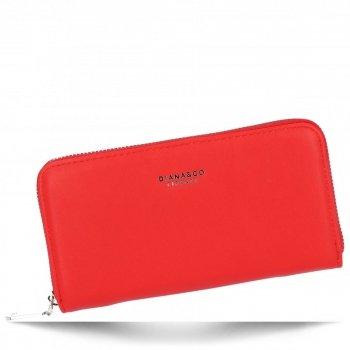 Diana&Co Univerzální Dámská Peněženka XL Červená