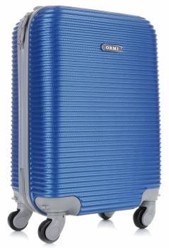 Palubní kufřík Or&Mi 4 kolečka modrá