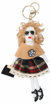 Přívěšek ke kabelce Vicky Doll Multicolor
