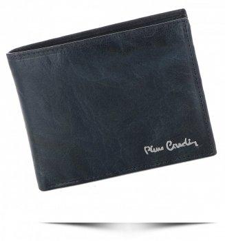 Pánská kožená peněženka Pierre Cardin Tmavě modrá