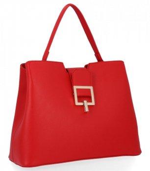 Klasické Dámské Kabelky Herisson Firenze Červená