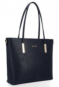 BEE BAG Klasické Dámské Kabelky Florence L size Tmavě Modrá