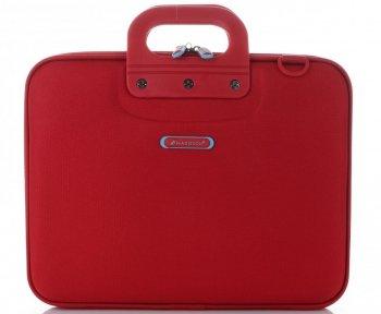 Prostorná taška Madisson Laptop 13,5'' červená