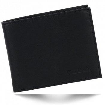Elegantní Pánská Kožená Peněženka Pierre Cardin Černá