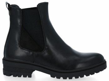 Černé kotníkové boty Carla
