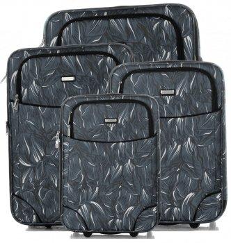Kufry renomované firmy Madisson Sada 4v1 multicolor - černé