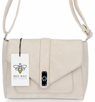 BEE BAG Klasické Dámské Kabelky Listonošky Maria Béžová