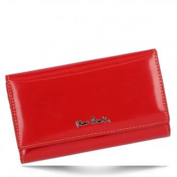 Dámská kožená peněženka Pierre Cardin Červená