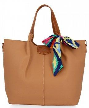 David Jones Dámské Kabelky XL Shopper Bag a Listonoška Zrzavá