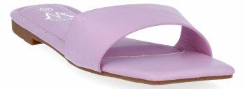 Fioletowe modne klapki damskie firmy Bellicy