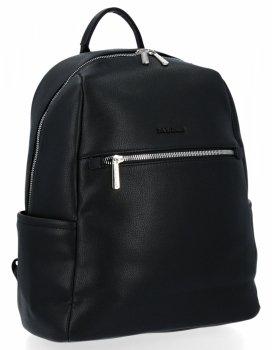 Duży Plecak Męski z kieszenią na tablet firmy David Jones Czarny