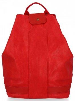 Uniwersalny Plecak Damski XXL firmy Diana&Co Czerwony