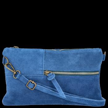 Uniwersalna Listonoszka Skórzana firmy Vittoria Gotti Jeans