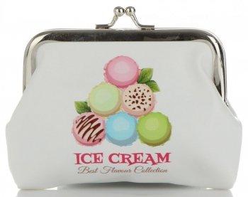Modne Portmonetki Damskie firmy David Jones Multikolor Ice Cream