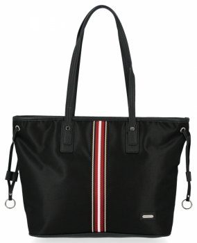 Modna Torebka Damska Shopper Bag firmy David Jones Czarna