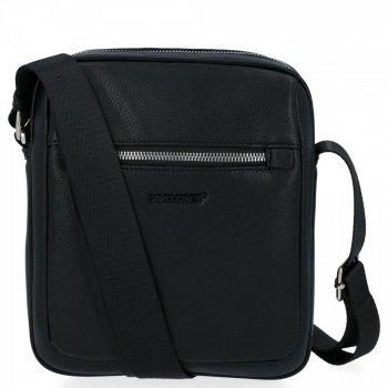 Univerzálna Pánska taška na posol David Jones čierny