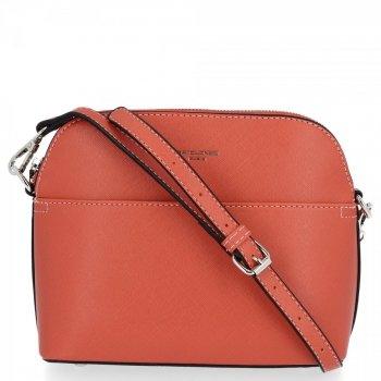 David Jones Univerzálne Ženy Messenger Bag Casual Orange Bag