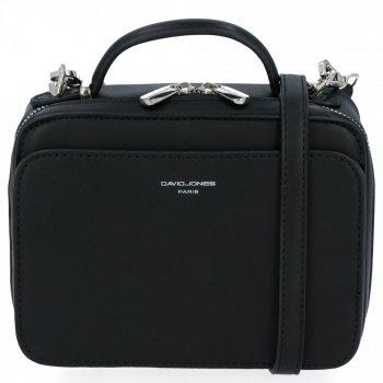Elegantné Dámske malé Crossbody tašky od David Jones čierny