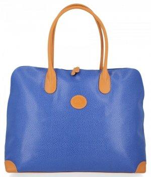 Všestranné štýlové cestovné tašky od David Jones modrý
