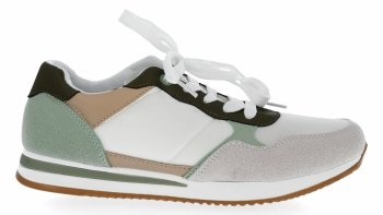 Zelené módne dámske tenisky od spoločnosti Bellucci