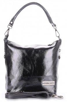 VITTORIA GOTTI vyrobené v Taliansku elegantná Kožená taška na posol