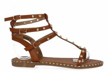 Camel Dámske sandále s hrotmi z Bellica
