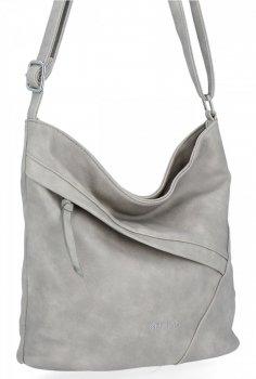 BEE Bag univerzálne Dámske Crossbody tašky Loren Svetlo šedá