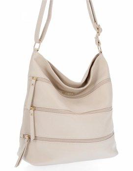 BEE Bag univerzálne Dámske tašky Messenger XL Celine Béžová