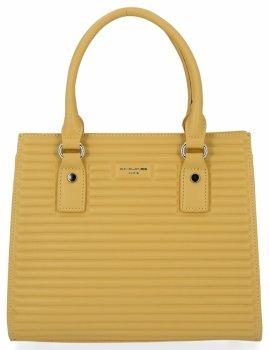 Elegantná dámska taška módna taška David Jones Žltá