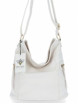 BEE Bag univerzálne Dámske tašky veľké tašky Ivy biela