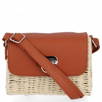 David Jones Značkové dámske tašky módne Messenger tašky svetlo béžová