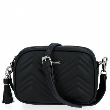 Malá dámska módna taška David Jones čierny