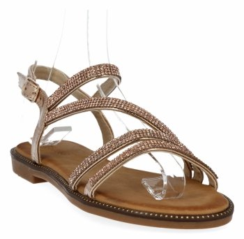 Szmpanie elegantné dámske sandále s kamienkami Bellucci