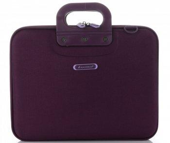 Značková Aktovka pre laptop Madisson 13,5  fialová