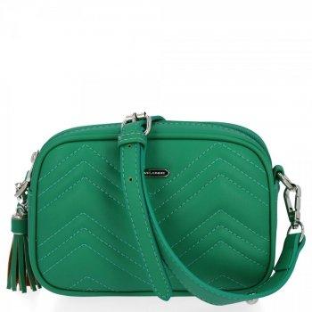 Malá dámska módna taška David Jones Dragon zelený