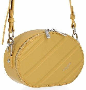 Módne dámske tašky pre všetky príležitosti David Jones žltý